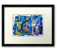 The Big Blue Framed Print