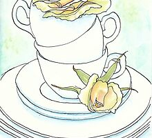 Teacups and Roses by AimeeSmith