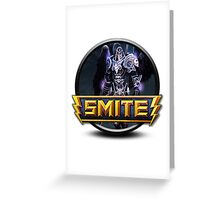 Smite Thanatos Logo Greeting Card