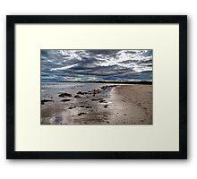 Alnmouth Beach #1 Framed Print
