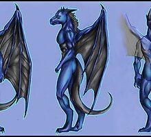 Sunkawakan - the blue dragon by Furiarossa