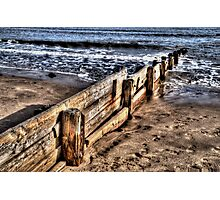 Beach Defence #1 Photographic Print