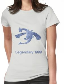 Legendary silver 1999 Womens Fitted T-Shirt
