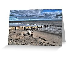 Beach Defence #3 Greeting Card