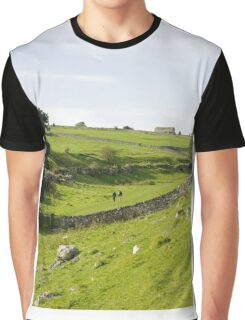 Walkers at Lathkill Dale Graphic T-Shirt