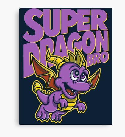 Super Dragon Bro Canvas Print