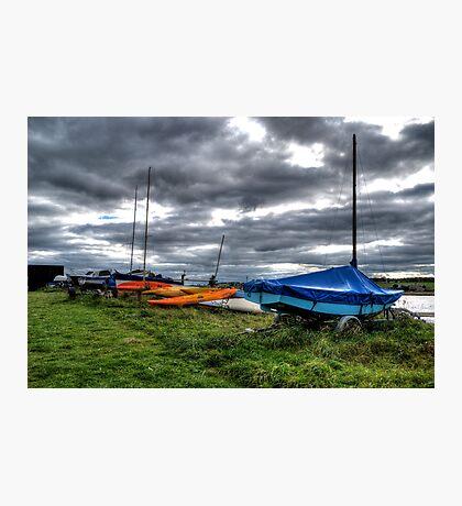Ocean Kayak Photographic Print