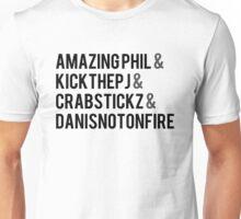 Fantastic Foursome Unisex T-Shirt
