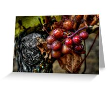 The Crown Of Life ~ Grapes ~ Greeting Card