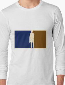 Han solo outline Long Sleeve T-Shirt
