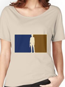 Han solo outline Women's Relaxed Fit T-Shirt
