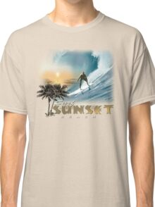 sunset beach Classic T-Shirt