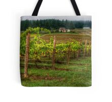 House On The Hill ~ Grape Vineyard ~ Tote Bag
