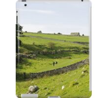 Walkers at Lathkill Dale iPad Case/Skin