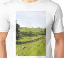 Walkers at Lathkill Dale Unisex T-Shirt