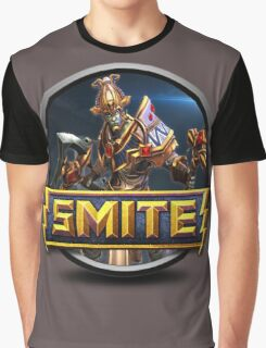 Smite Osiris Logo Graphic T-Shirt