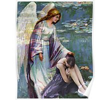 GARDEN OF GRIEF ~ MY ANGEL COMES TO ME Poster