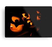 Jack O Lanterns Metal Print