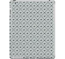 Studded Checkerboard Light on Slate Green Mist 1 iPad Case/Skin
