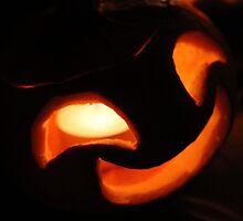 Cheeky Happy Jack O Lantern by Jack Butcher