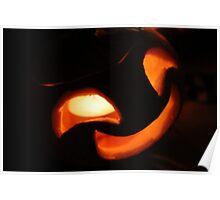 Cheeky Happy Jack O Lantern Poster