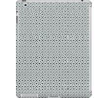 Studded Checkerboard Light on Slate Green Mist 1@50 iPad Case/Skin