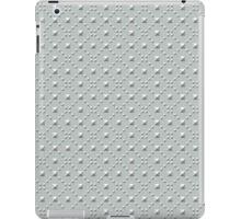 Studded Checkerboard Light on Slate Green Mist 2 iPad Case/Skin