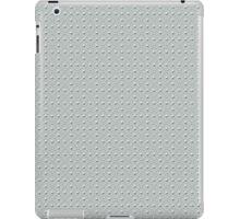 Studded Checkerboard Light on Slate Green Mist 2@50 iPad Case/Skin
