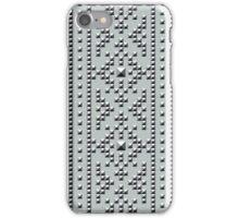 Studded Southwest Stripe on Slate Green Mist 1 iPhone Case/Skin