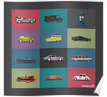 Iconic Cars - Collection - Square Poster
