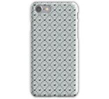 Studded Checkerboard Light on Slate Green Mist 1@50 iPhone Case/Skin