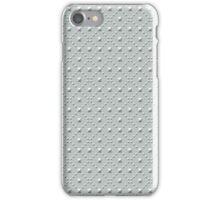 Studded Checkerboard Light on Slate Green Mist 2@50 iPhone Case/Skin