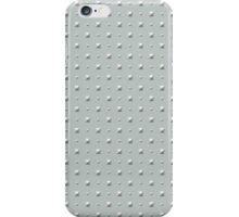 Studded Double Polka Stud on Slate Green Mist 2@50 iPhone Case/Skin