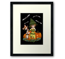Its a spooky Night Framed Print