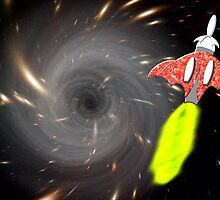 Will We Have the Power to Pass the Black Hole by Dennis Melling