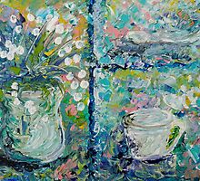 Vase and Demitasse by EloiseArt