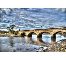 Alnmouth Bridge Photographic Print