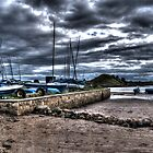 Alnmouth In HDR by Andrew Pounder