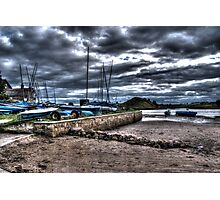 Alnmouth Yacht Club Photographic Print