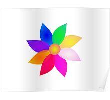 Single Flower Art Poster