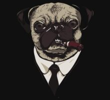 Dog In Black by Donnie Illustration