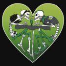 Psychobilly heart by Psychobilly-Tee