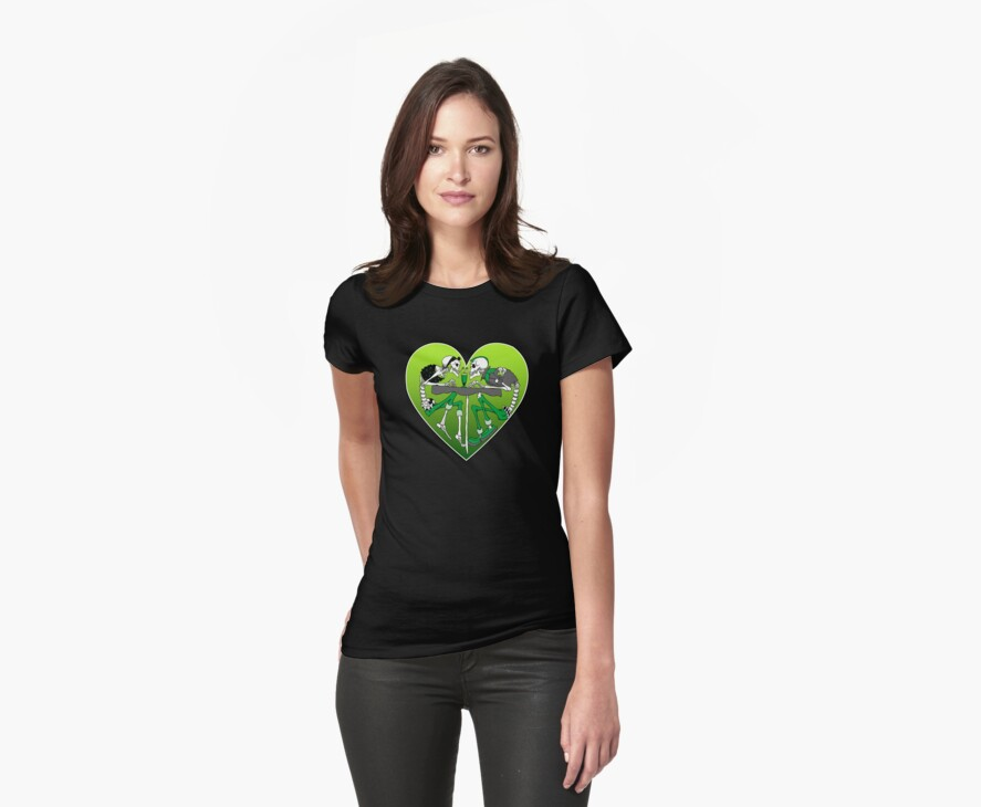 Psychobilly heart by Psychobilly-Tee