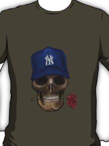 NY Yankees Skull   T-Shirt