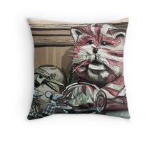 Bagpuss & pals! Throw Pillow
