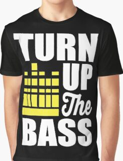 Turn up the bass!  Graphic T-Shirt