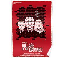 Village Of The Damned (Red Collection) Poster
