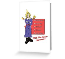 100% Don Corneo Approved! Greeting Card
