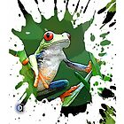 tree frog by arteology