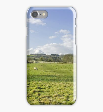 A Riverside Meadow at Mapleton iPhone Case/Skin